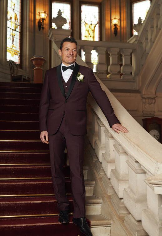 Costume mariage Costume cérémonie Besançon sur mesure personnalisation CELESTE-CT502-5504
