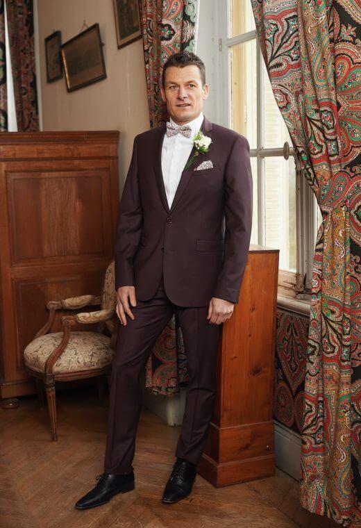 Costume Business Prêt à porter homme Besançon Marque Française SULTANV-CT104-5520