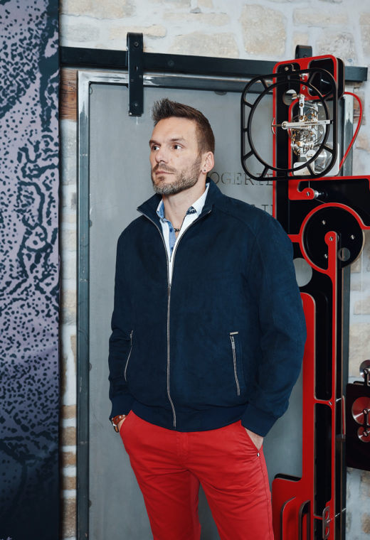Sportswear homme Besançon outerwear DAWSON-SPO502-5802