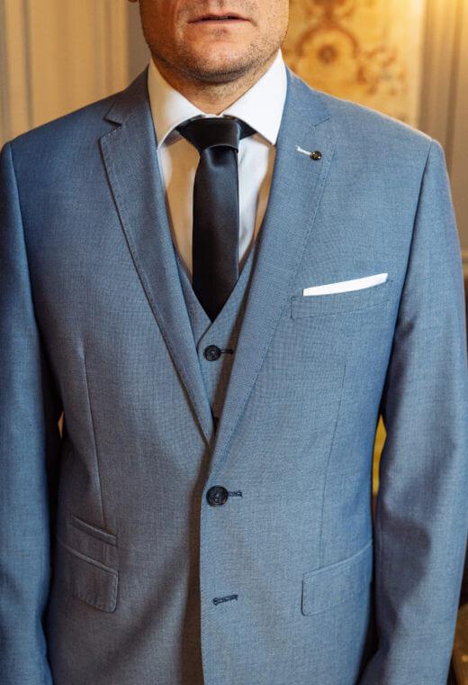 Costume Business Prêt à porter homme Besançon Marque Française DIANA-CT509-5511