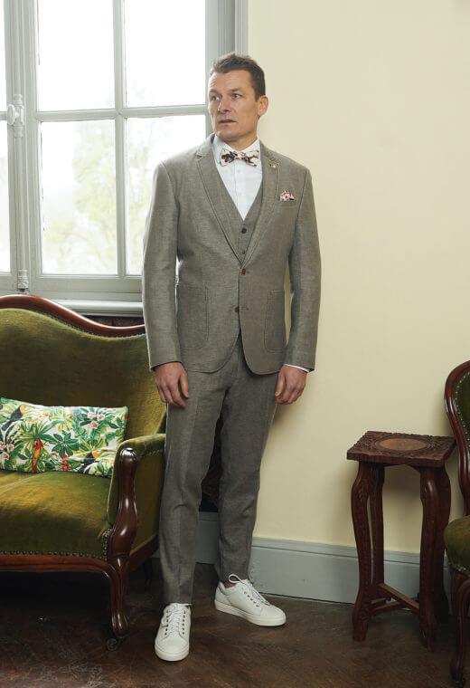 Pantalon homme chino LINCOLN-V701-7118