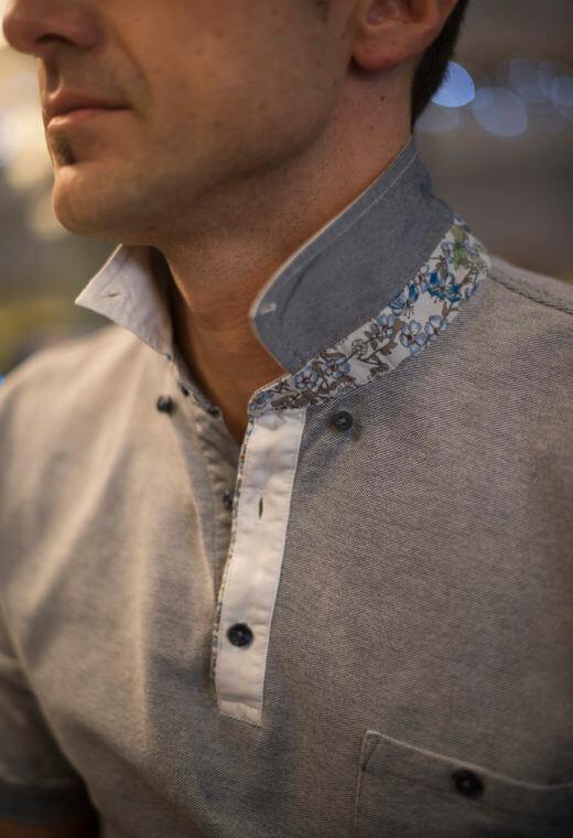 Polo homme tee-shirt Besançon TWINN-PL1-9998