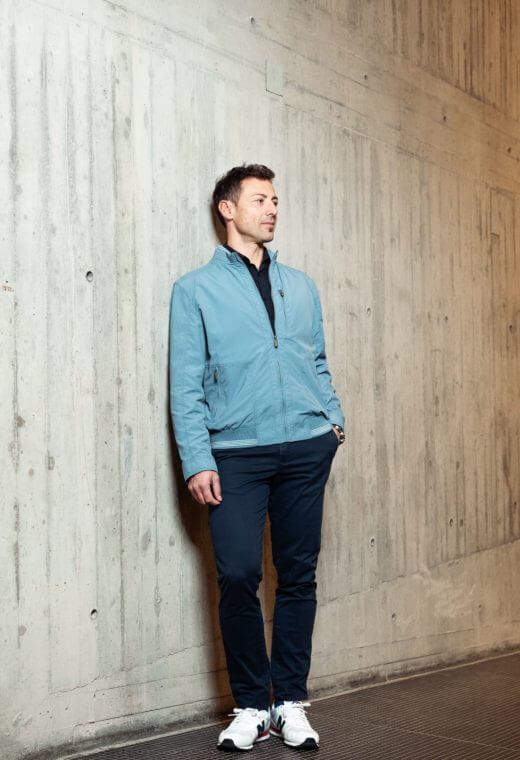Sportswear homme Besançon outerwear CLYDE-SPO503-5803