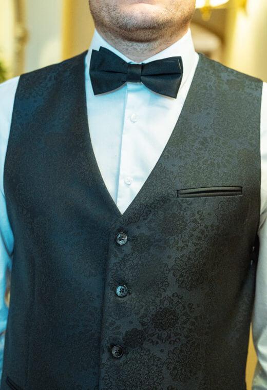 Gilet homme mariage prêt à porter Besançon Marque Française CHRIS-CT500-5501