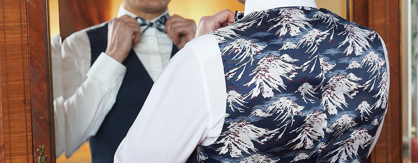 Gilet homme mariage prêt à porter Besançon Marque Française