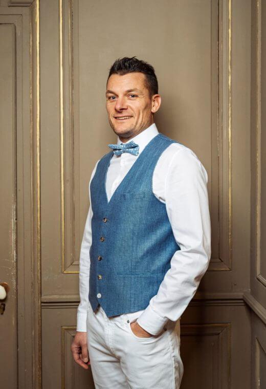 Gilet homme mariage prêt à porter Besançon Marque Française LYMA-V523-7117