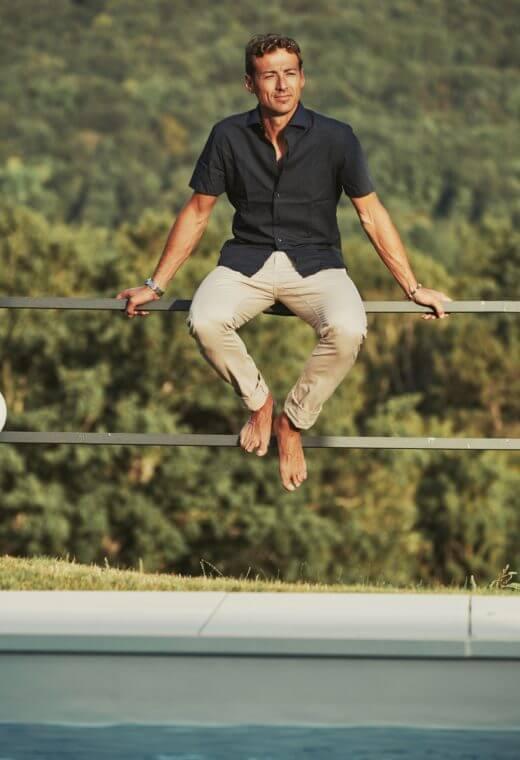 Pantalon homme chino LYON-3001-44