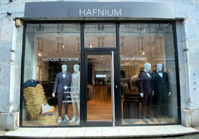 Hafnium Prêt à porter homme Besançon Marque Française