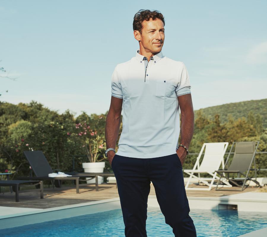 Polo homme tee-shirt Besançon