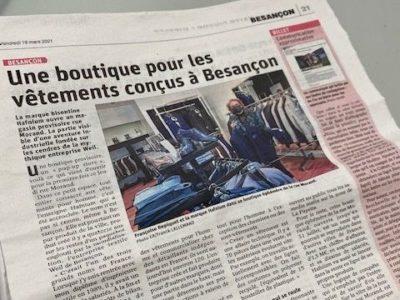 Prêt à porter homme Besançon Marque Française