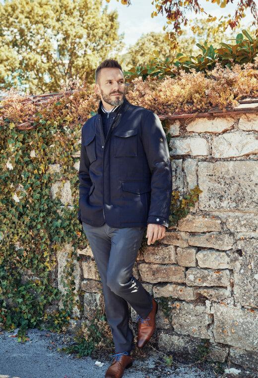 Prêt à porter homme Besançon Marque Française UGO-SPO606-C6028