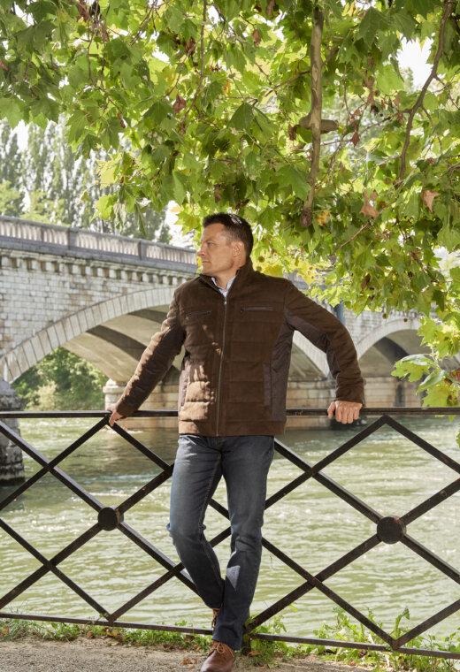 Prêt à porter homme Besançon Marque Française DAVI-SPO828-C8047